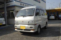 No.M5060:H6年  三菱ブラボーバン4WD 27万円