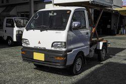 No.M6176:H09年  三菱ミニキャブリトルダンプ4WD 45万円